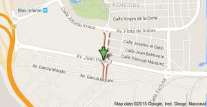 Calle Alfonso de Orleans - Barriada de Tablada