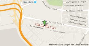 Calle Bermúdez de Castro - Barriada de Tablada